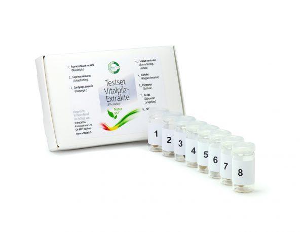 Testset - Kombination Nahrungsergänzungen - Vitalpilze